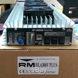 Rm Hla-300v Plus Amplificatore Lineare Hf Con Filtri 300wfm/550w Ssb 12v