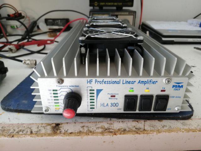 Rm Hla-300v Power Amplifier Lineare Radio Hf 0-30mhz 300-600watt Con Filtri