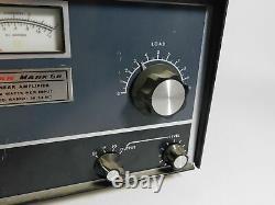 Swan Mark 6B 2KW PEP Ham Radio Tube Amplifier (untested, sold as-is)