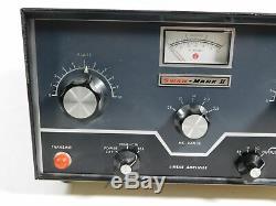 Swan Mark II 3-500Z Tube Ham Radio Amplifier (looks good, missing power supply)