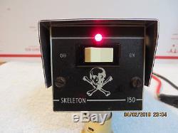 TEXAS STAR 150 SKELETON 2-2879s TOSHIBAS 10 METER LINEAR AMP VINTAGE RARE