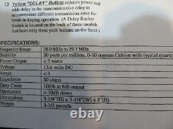 TEXAS STAR 667V 600 Watt 10 METER AMPLIFIER