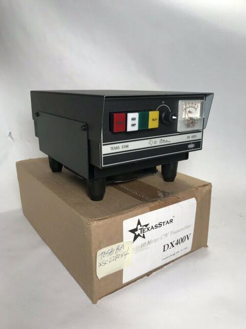 Texas Star Dx-400v With Fan Kit Stand Toshiba 2290 Transistors Cw Amp! Nos Bnib