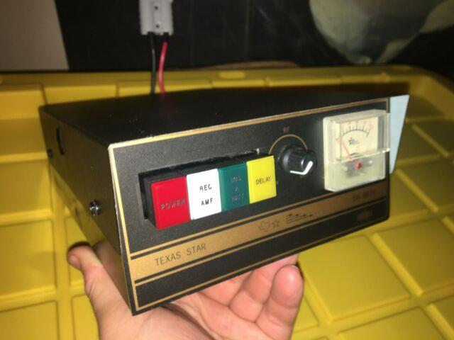 Texas Star Dx-667v 2879 Transistors Amplifier Amp Used Linear Amp