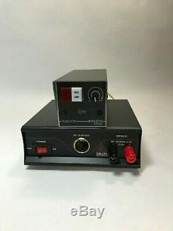 TEXAS STAR MODULATOR V-PLUS V MOD 2879 CW AMPLIFIER Amp With DPS22 22 AMP POWER