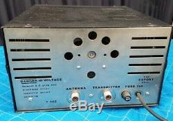 THUNDERBOLT 305 Linear Amplifier, CB HAM Radio, 1 DRIVING 3 6LQ6 TUBES