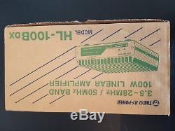 TOKYO HY-POWER HL-100BDX 3.5MHz 50MHz 100W SSB, CW 33W for AM