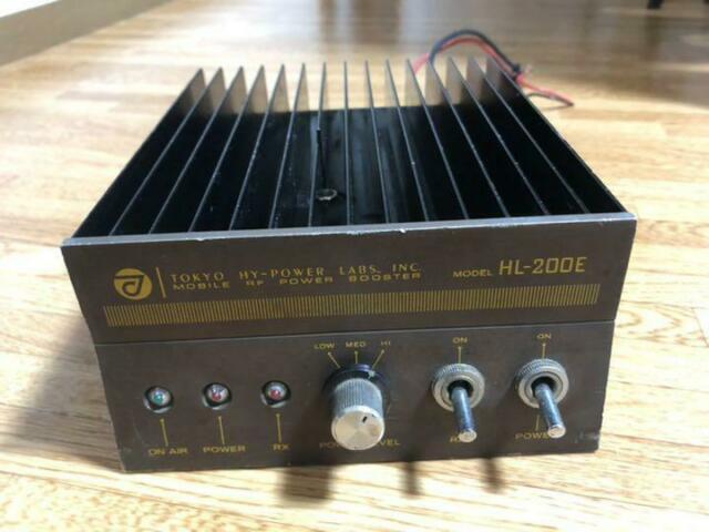 Tokyo Hy-power Linear Amplifier Hl-200e Very Rare (wtrack)