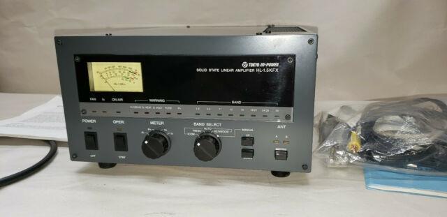 Tokyo Hy-power Model Hl-1.5kfx Hf/50mhz Linear Amplifier Solid State Ham Radio