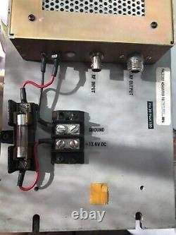 TPL UHF repeater Amplifier model PA6-1BE with 8-20 watt input for 60-100 w outpu