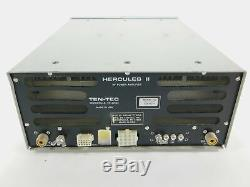 Ten-Tec Hecules II HF Ham Radio Power Amplifier Untested SN 50A10271