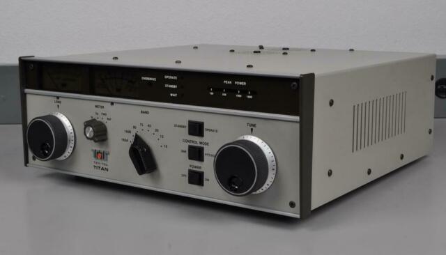 Ten-tec Titan Model 425 Amplifier Excellent Condition