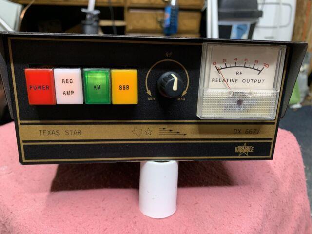 Texas Star Dx667 V 10 Meter Amplifier All Original Genuine Toshiba Transistors