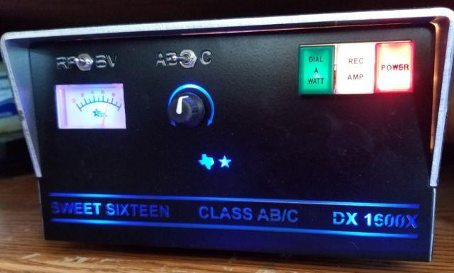 Texas Star Dx1600x Variable Power Amplifier With X-force 200 Amp Power Supply