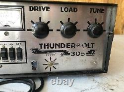 Thunderbolt 305 CB/Ham Linear Radio Works Parts Or Project