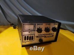 Thunderbolt 305 linear Base amplifier / BEAUTIFUL LOOKING & HI PERFORMANCE