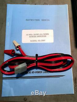 Tokyo Hy-power Hl-206v 200 Watt 6 Meter Rf Power Amplifier With Preamp