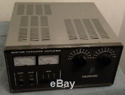Tokyo Hy-power Sagra 600 2 Meter (144-146MHz) 600 Watt Linear Amplifier