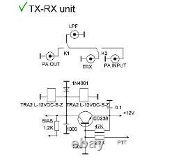 VHF 2m power amplifier LDMOS 144 MHz 1000W KIT