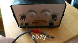 VINTAGE MODEL 6801 MOBILE LINEAR AMPLIFIER PARTS ONLY by ABC ELECTRONICS INC