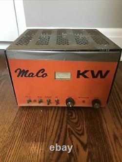 VINTAGE Maco KW Tube Line Amplifier Antenna Radio Radio Tubes Maco M-2057