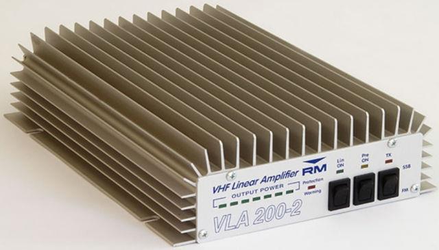 Vla 200-2 By R. M. Italy Vhf Amp