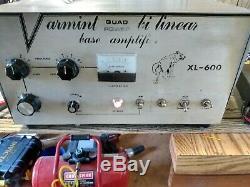 Varmint XL 600 Quad Power Base Linear Amplifier