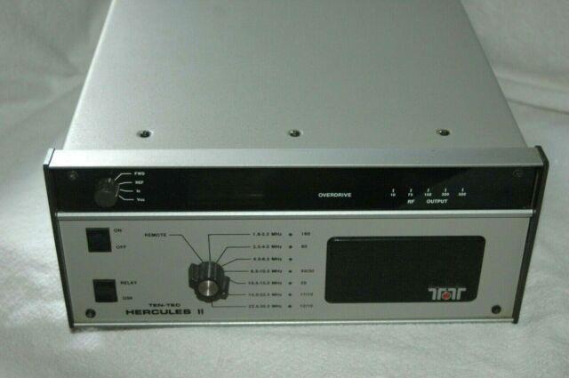 Very Nice Working / Fully Tested Ten Tec Hercules Ii 500 Watt Linear Amplifier