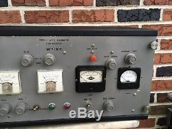 Vintage CUSTOM HAM RADIO CLASS C 2 METER AMPLIFIER CONTRUCTED BY W3KKC