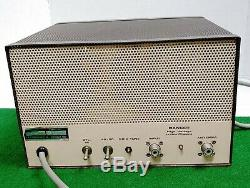 Vintage D&a Maverick Dual Power Cb Radio Tube Linear Amplifier Dpmb 9308 Rare