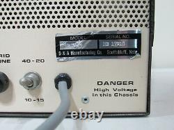 Vintage D&a Raider Linear Amplifier Cb Ham Radio Amp Citizens Band Base Station