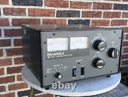 Vintage Heathkit Sb-1000 Ham Radio Tube Amplifier