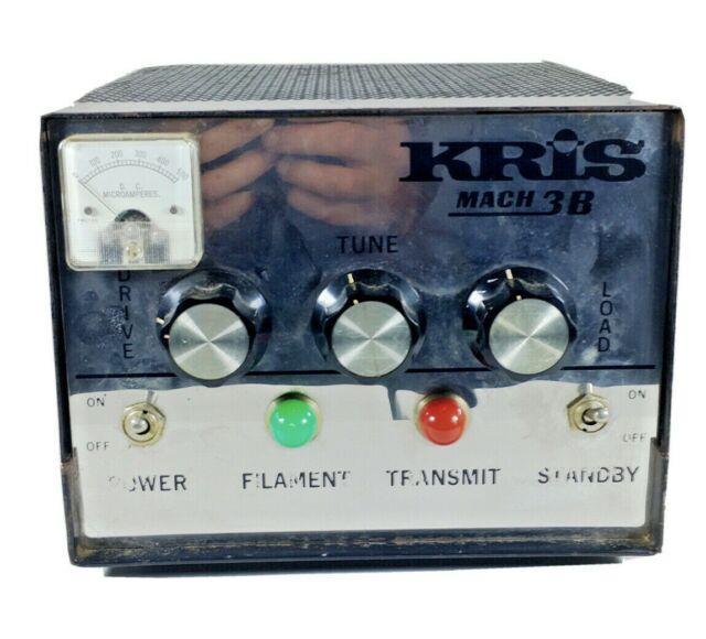 Vintage Kris Mach 3b Ham Radio Linear Amplifier
