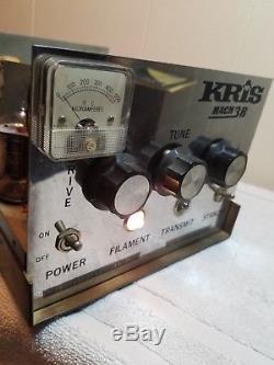 Vintage Kris Mach 3B Linear Amplifier