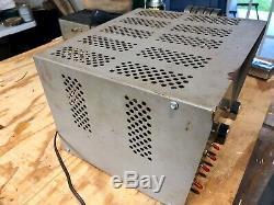 Vintage MACO 300 Linear Tube Amplifier Read Description