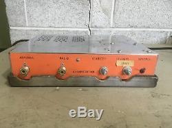 Vintage Maco Duster Linear Amplifier Ham Radio