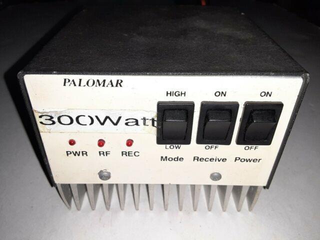 Vintage Palomar 300 Watt Linear Power Amplifier Untested Cb Ham Radio Equipment