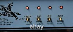 Vintage. The Crusader 125 Electronics Unlimited CB Ham Linear Amplifier 8.2