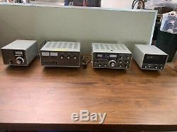 Vintage YAESU Communication System FT-101E Transceiver, FL-2100b Linear Amplifie