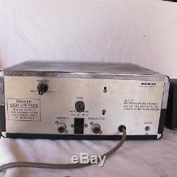 Vtg PALOMAR 300A BI Linear Tube Amplifier With Power Supply HAM Amateur Radio Nice