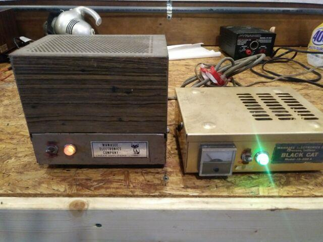 Wawasee Electronics Company Linear Amplifier And Black Cat Jb 200 A