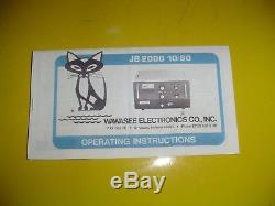 Wawasee Jb2000 Blackcat King Of The Hill / 2kw / New Tubes & Hi Pwr Caps