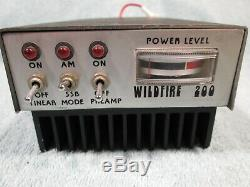 Wildfire 200 Linear Amplifier Amp For Upper Hf Ham Radio 10m 10 Meter + 27mg