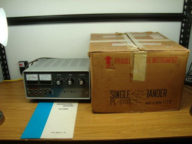 Yaesu Fl-2100b Amplifier Mint With Box, Works Excellent, For Ft-101e Ft-101f