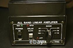 Yaesu FL-110 100 Watt Solid State Linear Amp