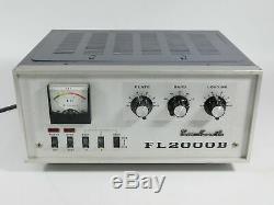 Yaesu FL-2000B Vintage Ham Radio Amplifier (looks good, doesn't power up)