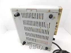 Yaesu FL-2100B 80-10 Meter Tube Ham Radio Amplifier with 2x 572B Tubes SN 8E280127