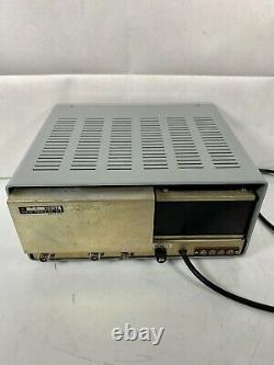 Yaesu FL-2100B Amplifier with Centron Tubes with Video