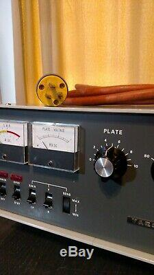 Yaesu FL-2100B HF Linear Amplifier 80 thru 10 Meters 572B Tubes x 2