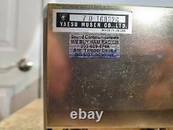 Yaesu FL-2100b HF Linear Amplifier Amp Cetron 572B Tubes C MY OTHER HAM RADIO